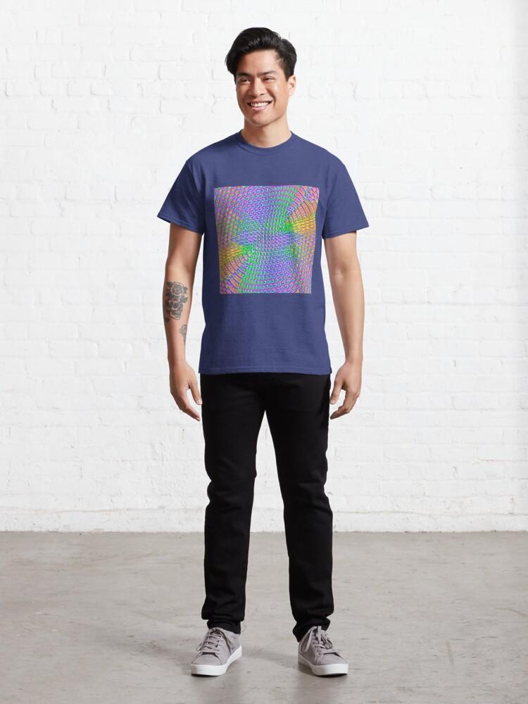 Alternate view of Pattern loud Classic T-Shirt