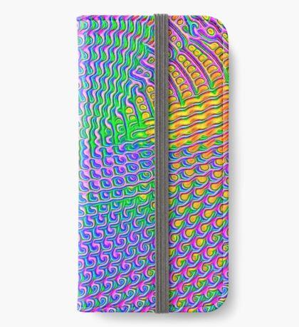 Pattern loud iPhone Wallet