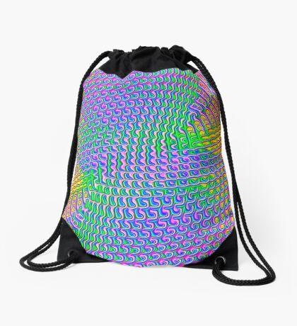 Pattern loud Drawstring Bag