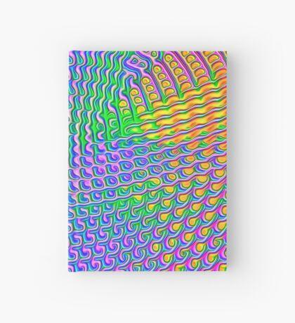 Pattern loud Hardcover Journal