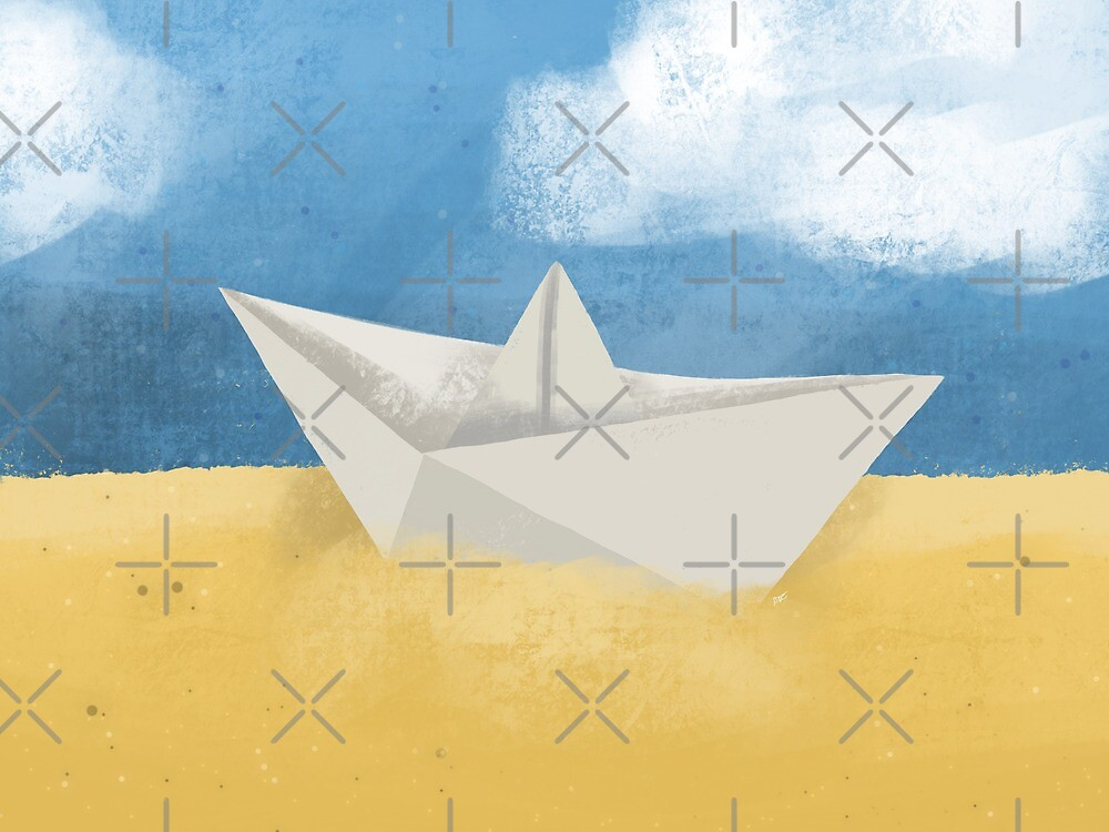 Paper Desert  by Ohms-n-Wattson