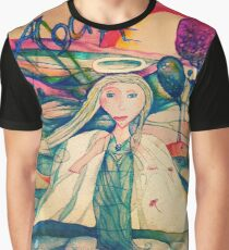Colored pencil ''Angel'' Graphic T-Shirt