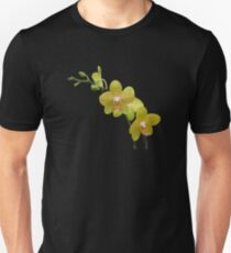 YELLOW ORCHIDS Slim Fit T-Shirt