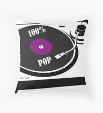 100% Pop Throw Pillow