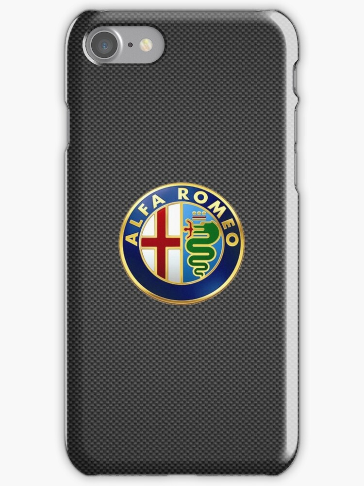 Alfa Romeo iPhone Case by Sheldon McIntosh