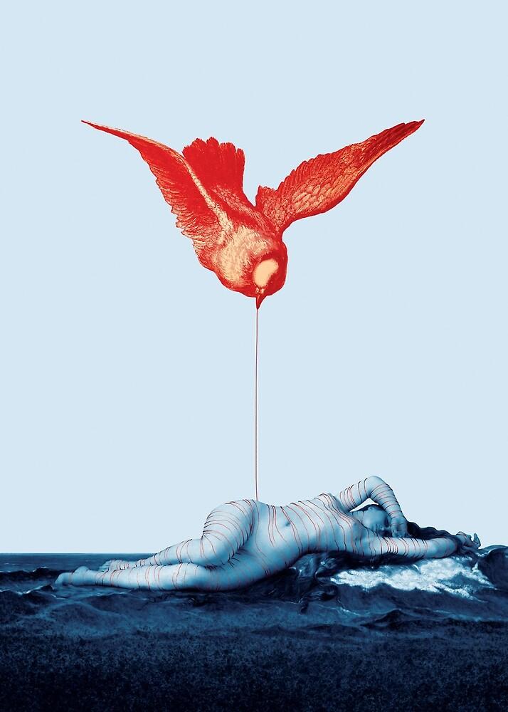 The Crimson Bird by ValentinaCatto