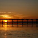 saltburn pier sunset by dougie1