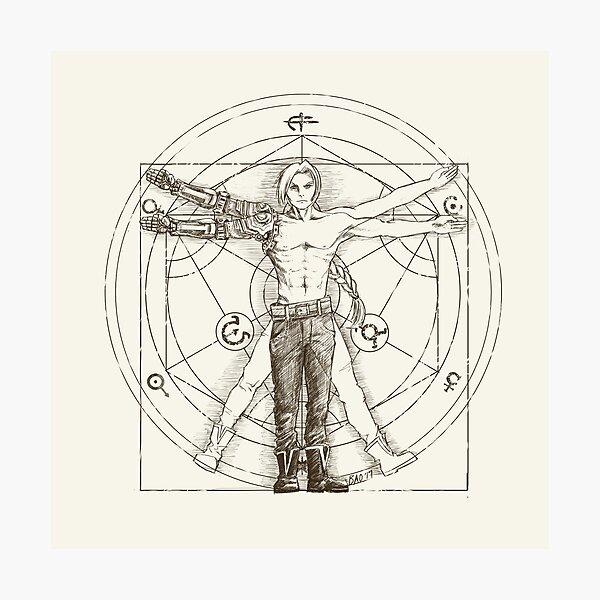 Vitruvian Alchemist Photographic Print