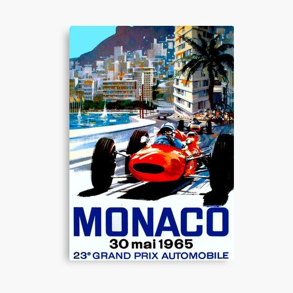 1968 Monaco Grand Prix Motor Racing  Poster  A2 Reprint
