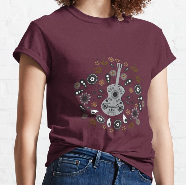 Boho Chloe Rustic Red Classic T-Shirt