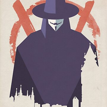 V For Vendetta by imposibear