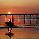 Saltburn Surfer by dougie1