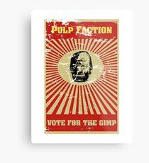 Pulp Faction - The Gimp Metal Print