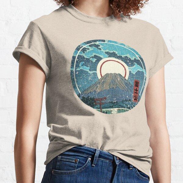 Mt. Fuji Moon Classic T-Shirt