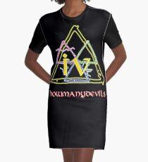 D4 Graphic T-Shirt Dress