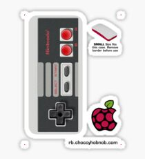 Nintendo Entertainment System (NES) Controller Skin for the Official Pi Zero case Sticker