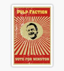 Pulp Faction - Winston Sticker
