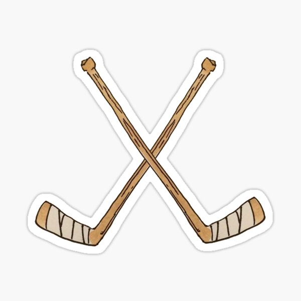 Hockey Sticks Sticker