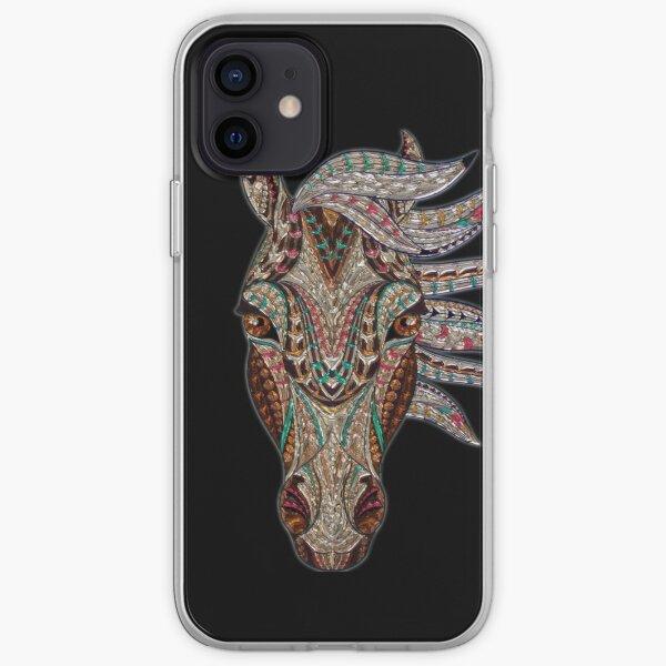 Magnificent Horse iPhone Soft Case