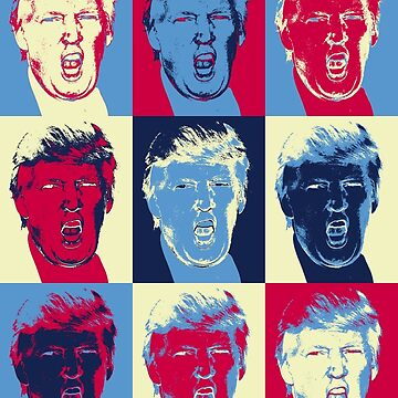 Trump in pop art by lab80