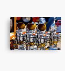 Shiny Engine Canvas Print