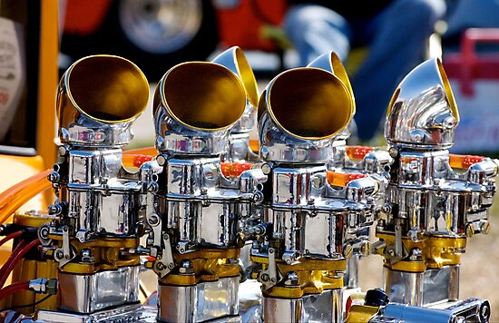 Shiny Engine by TJ Baccari Photography
