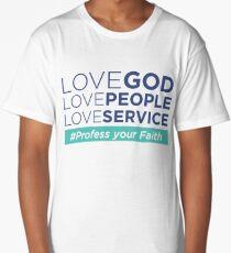 Love God Long T-Shirt