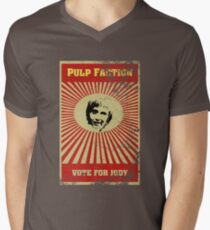Pulp Faction - Jody Mens V-Neck T-Shirt