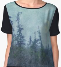 The trees and the moon Chiffon Top