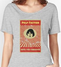Pulp Faction - Fabienne Women's Relaxed Fit T-Shirt