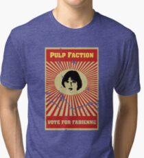 Pulp Faction - Fabienne Tri-blend T-Shirt
