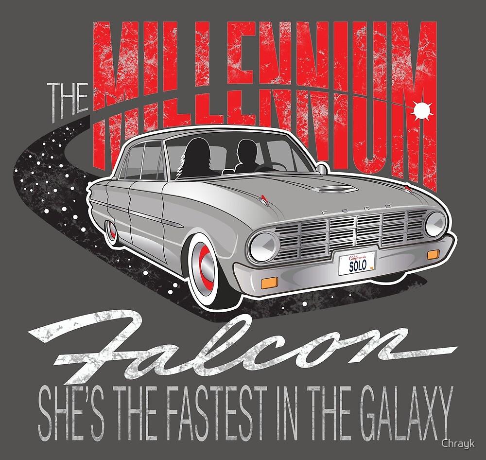 The 1960 Falcon by Chrayk