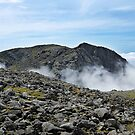 Scafell above the clouds by Martin Lawrence