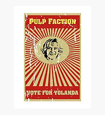 Pulp Faction - Yolanda Photographic Print