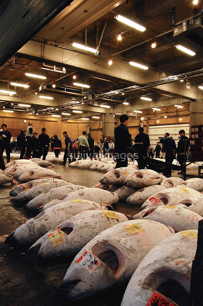 Tokyo Fish Market by swivalimages
