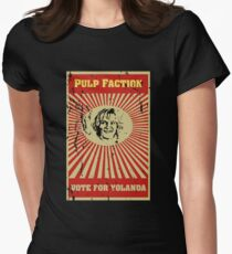 Pulp Faction - Yolanda Womens Fitted T-Shirt