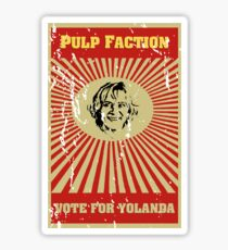 Pulp Faction - Yolanda Sticker