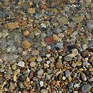 Lake Michigan Beach Pebbles by farmbrough
