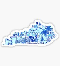 Lilly Pulitzer Kentucky State  Sticker