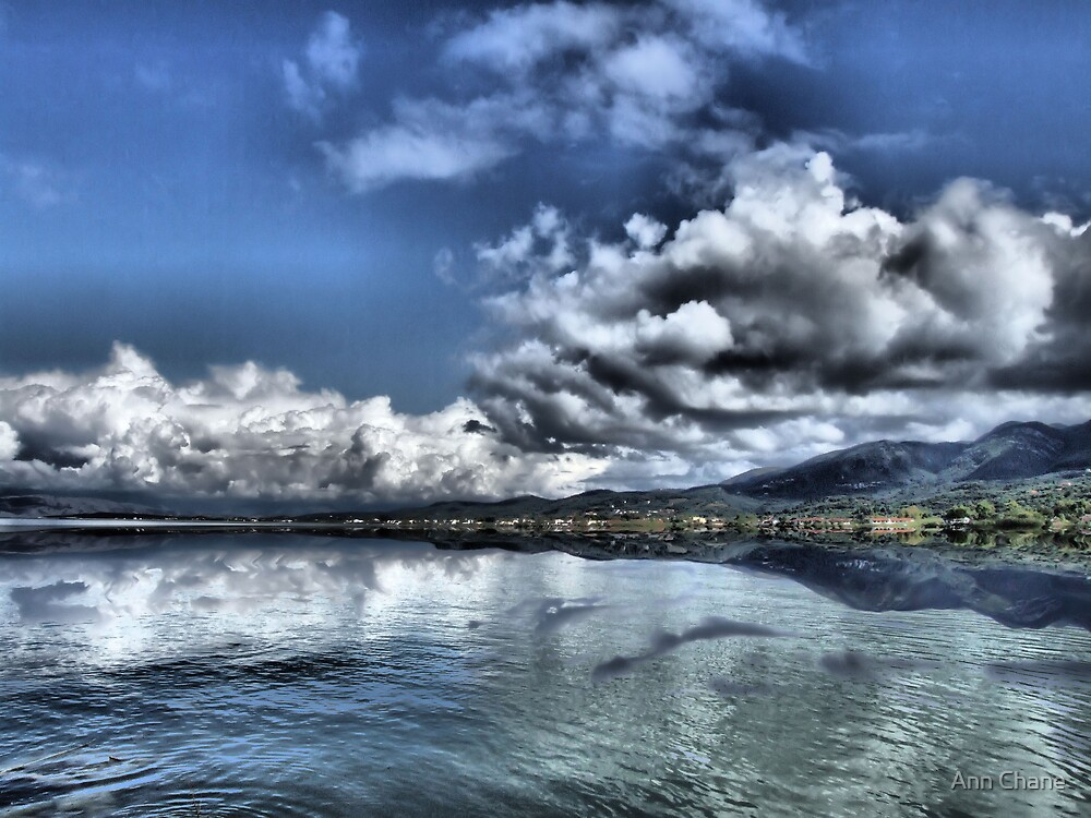 Cloud Reflections by Ann Chane