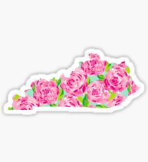 Kentucky State Lilly Pulitzer  Sticker