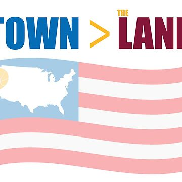The TOWN > The LAND - Championship T by motownj