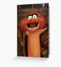 Muppet Maniacs - Animal as Buffalo Bill Greeting Card