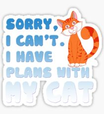 I CAN'T Sticker