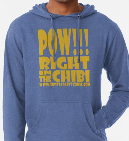 STPC: Pow!!! Right in the Chibi 1.0 Lightweight Hoodie