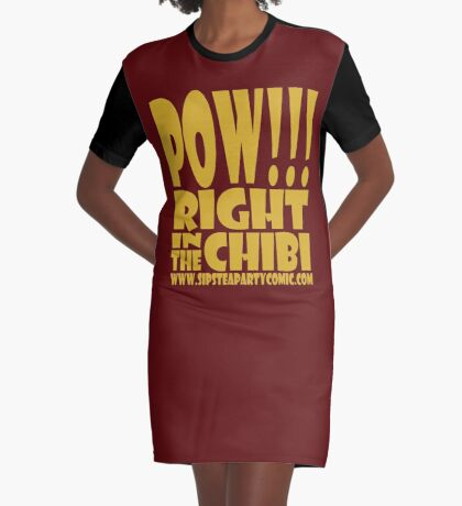 STPC: Pow!!! Right in the Chibi 1.0 Graphic T-Shirt Dress