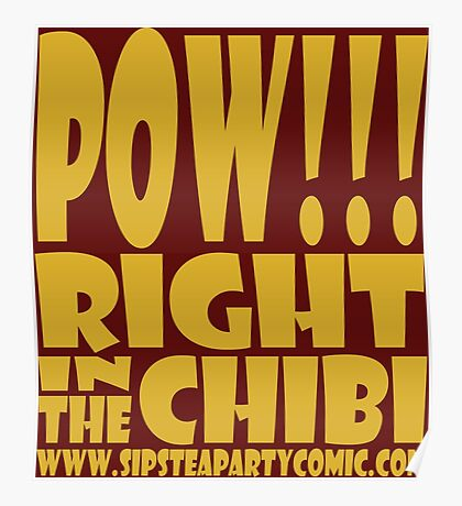 STPC: Pow!!! Right in the Chibi 1.0 Poster