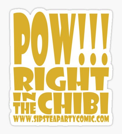 STPC: Pow!!! Right in the Chibi 1.0 Sticker