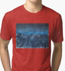 Great Smokies original painting Tri-blend T-Shirt