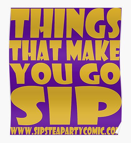 STPC: Things That Make You Go Sip 1.0 Poster